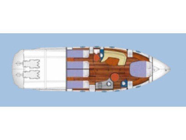 Blu Martin 46 ST (Profondo Blu) Plan image - 4