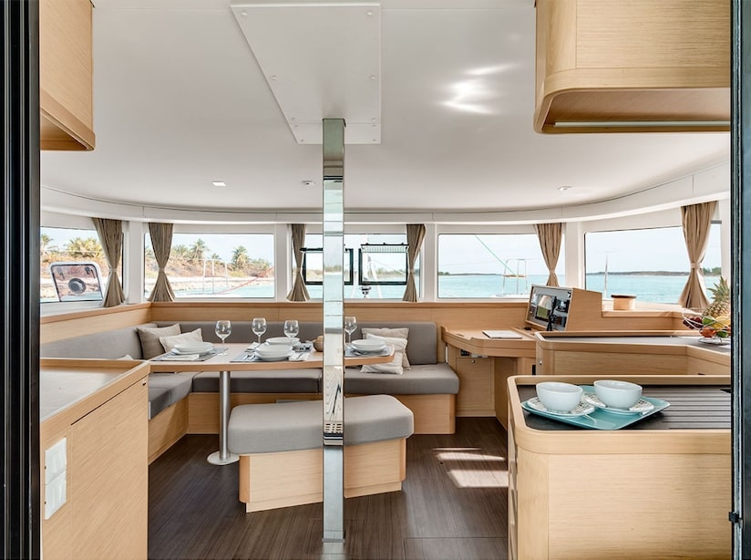 Lagoon 42 owner version (NURIA) Interior image - 2