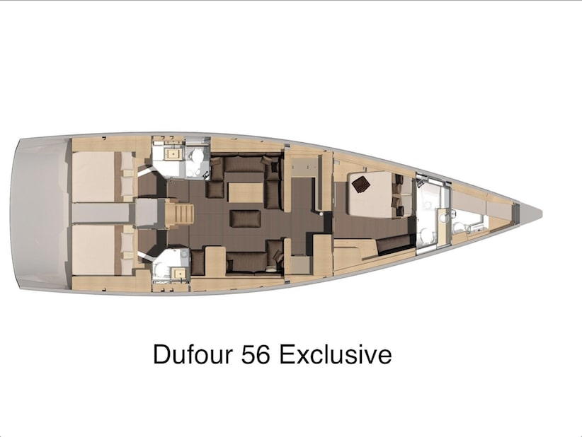 Dufour 56 Exclusive (My Way IV) Plan image - 16