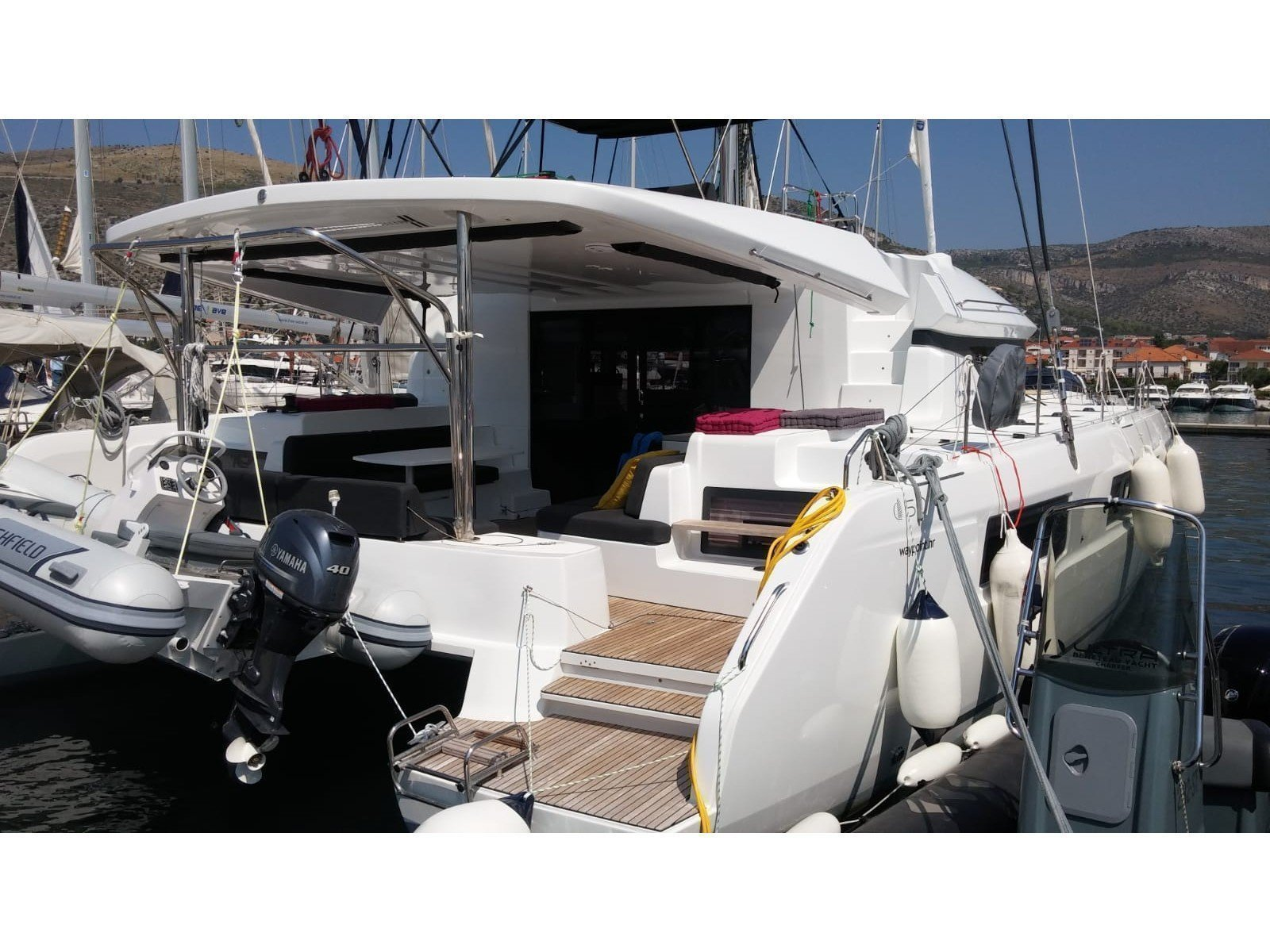 Lagoon 50 Fly (SUMMER STAR (with WATERMAKER, generator and AC, dinghy with OB 40 HP)) Main image - 0