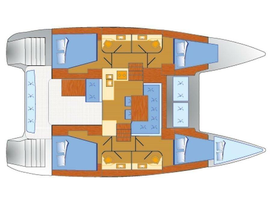 Lagoon 40 (NN) Plan image - 1