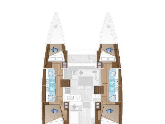 Lagoon 40 (Milu 2.0) Plan image - 3