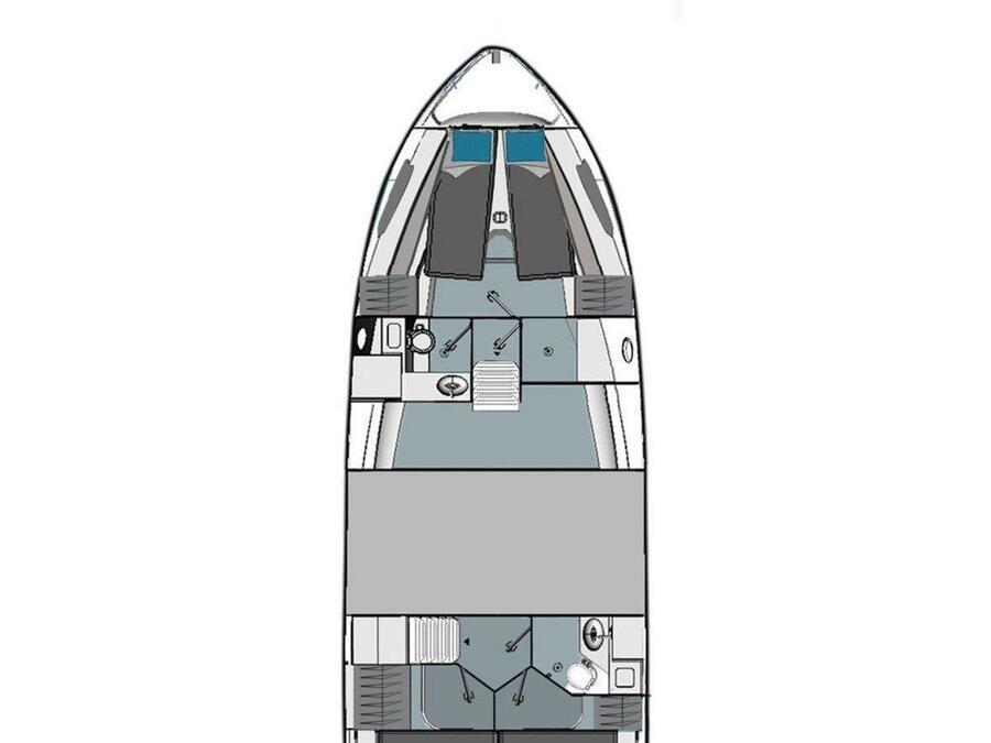 Bavaria E40 Fly (Danijela) Plan image - 2