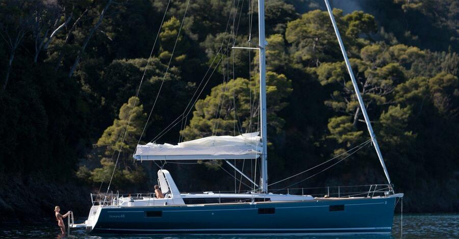 Oceanis 48 (Lastovo: One Way (Bare Boat) - Dubrovnik to Split)  - 1