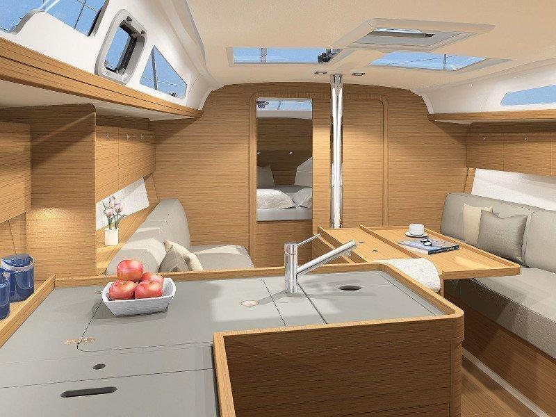 Dufour 360 Grand Large (Vanila) Interior image - 11