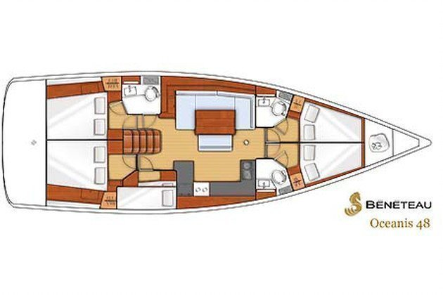 Oceanis 48 (Nabucco. Private Charter (8 pax) FULLY CREWED, ALL EXPENSES INCLUDED)  - 8