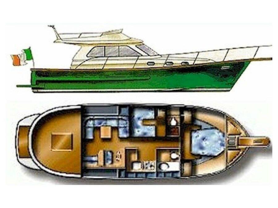 Sciallino 40 (Perla di mare) Plan image - 4