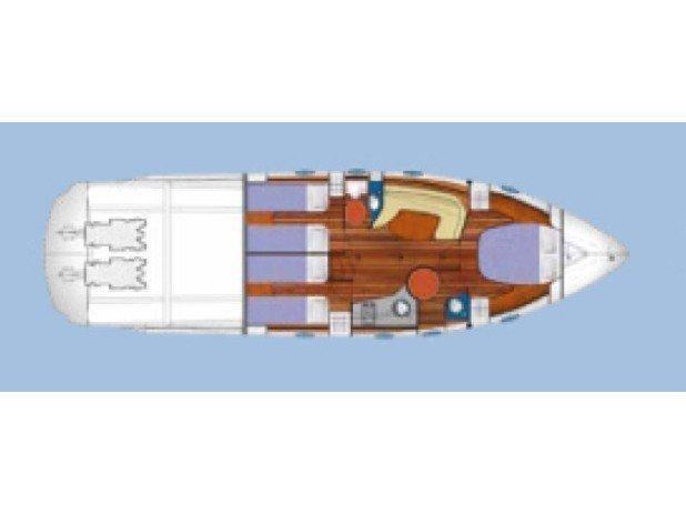 Blu Martin 46 HT (B One-base La Spezia) Plan image - 9