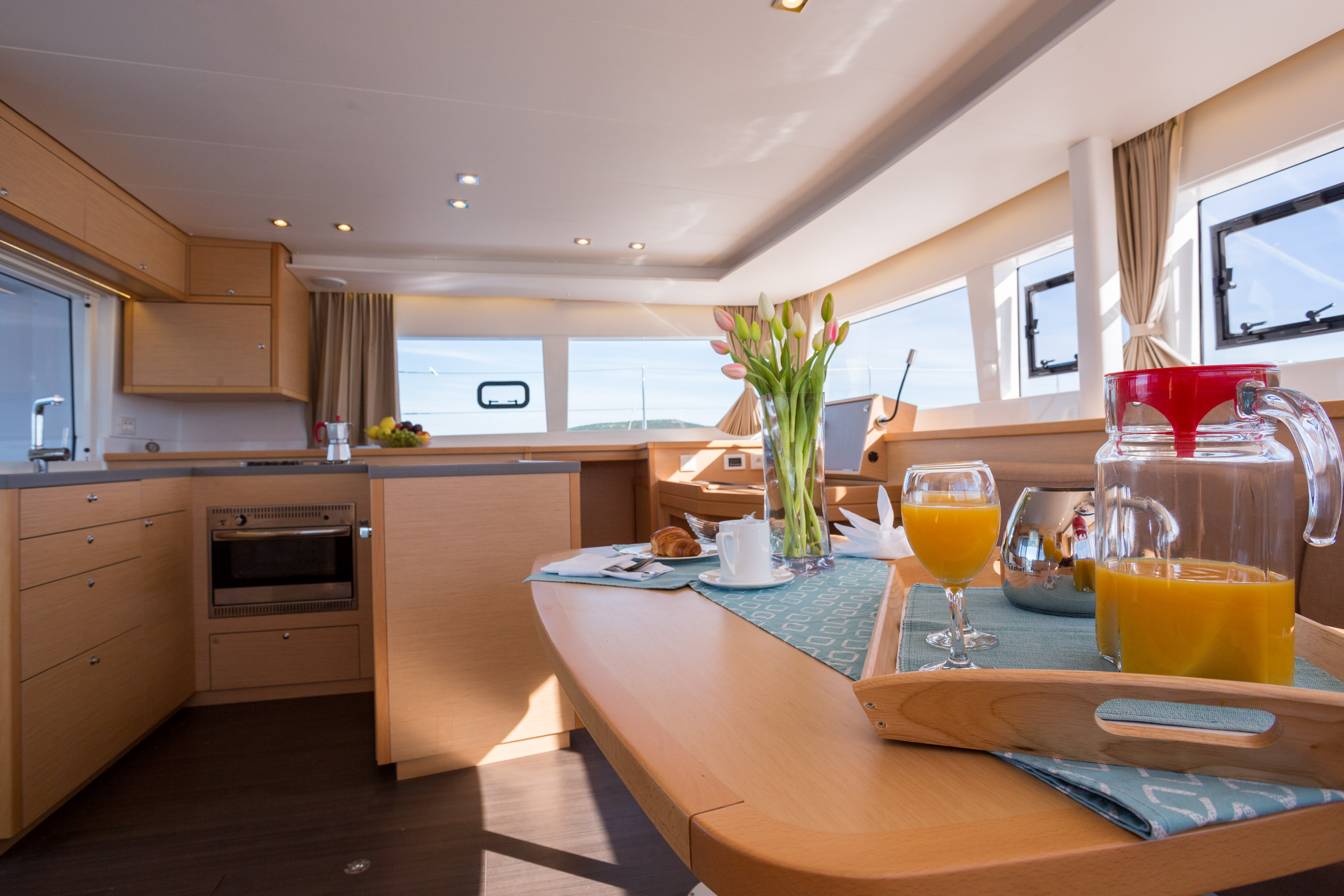 Lagoon 450 F Luxury (BRIGHT MOON) Interior image - 5