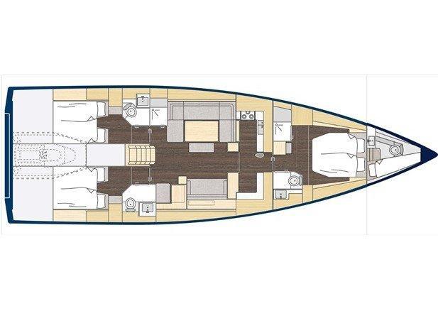 Bavaria C57 Style (Pinot Blanc) Plan image - 1