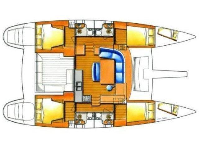 Lagoon 440 (Movi) Plan image - 3