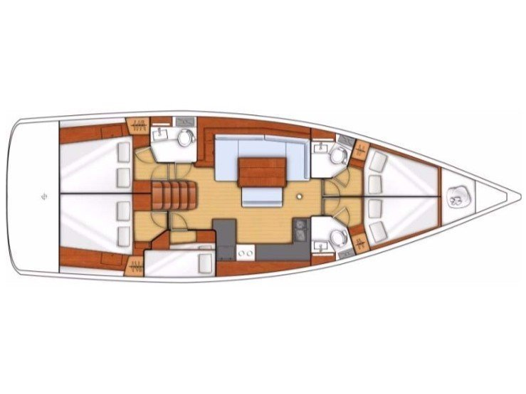 Oceanis 48 (Vinderla) Plan image - 3