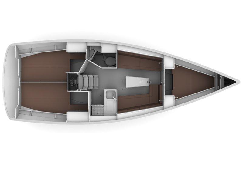 BAVARIA C 34 (VITA) Plan image - 5