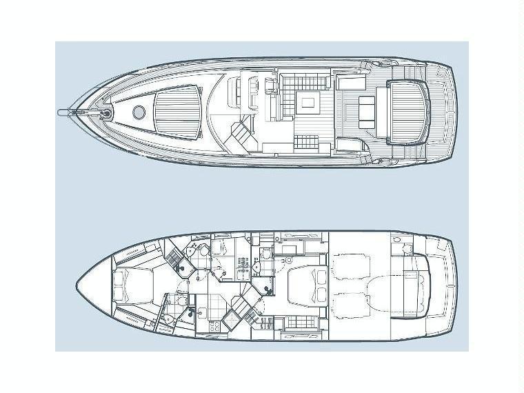 Sunseeker Predator 64 (Marita) Plan image - 28