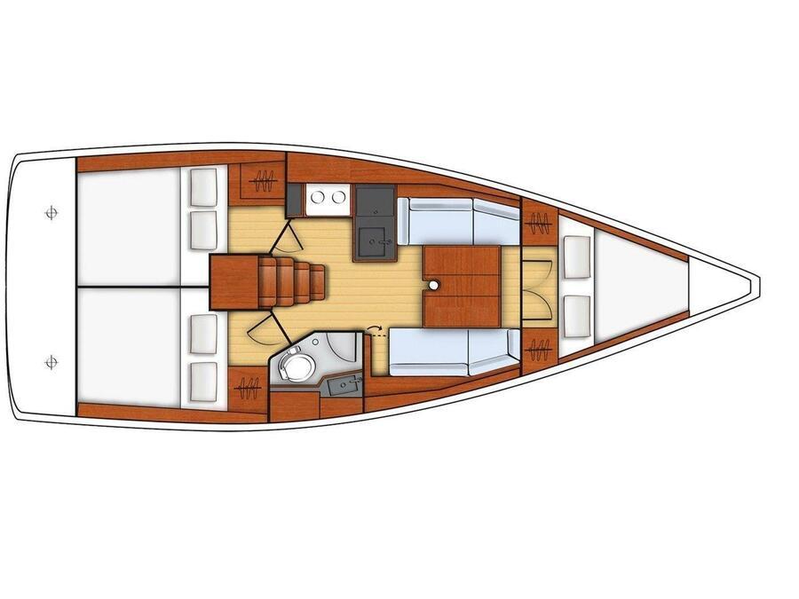 Oceanis 35 (Te Fiti) Plan image - 10