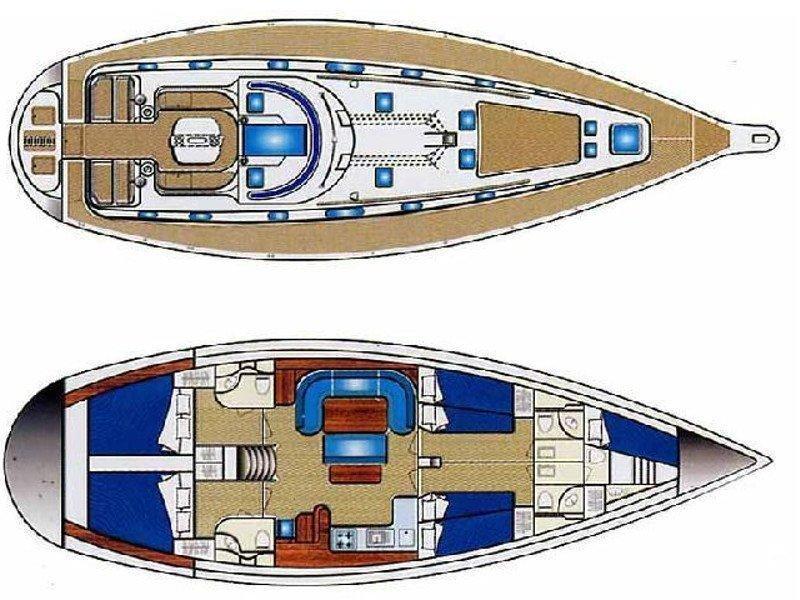 Ocean Star 51.2 (Anastasia) Plan image - 13