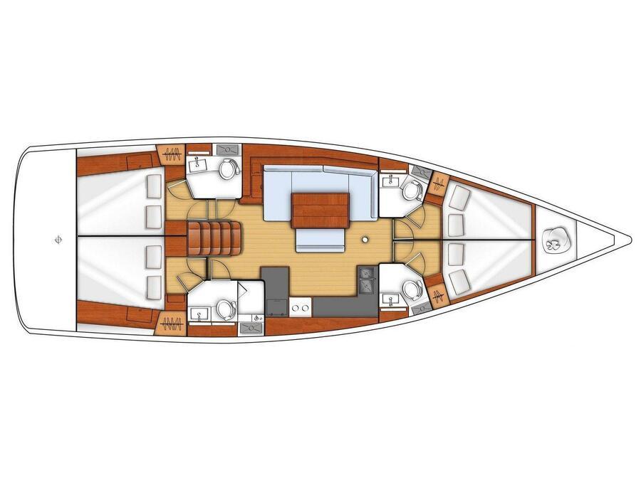 Oceanis 48 (Cayetana) Plan image - 28