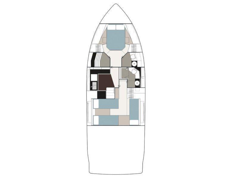 Sealine F 450 (DA CAPO) Plan image - 23