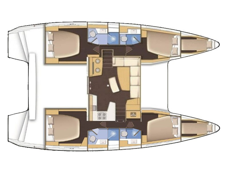Lagoon 42 (MEERKAT) Plan image - 28