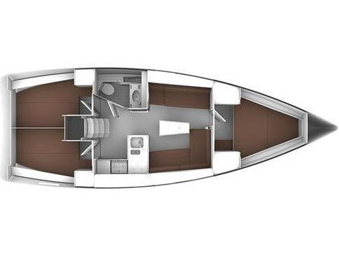 Bavaria Cruiser 37 (Sail Dream 2) Plan image - 2