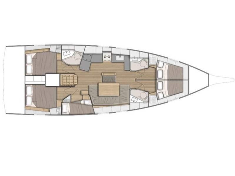 Oceanis 46.1 (Mr.White with A/C and generator) Plan image - 32