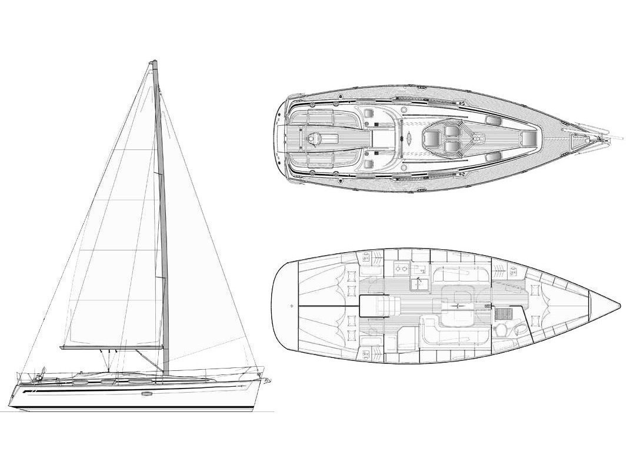 Bavaria 38 Cruiser (Takis) Plan image - 2