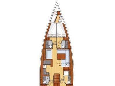 Oceanis 55 (Esther) Plan image - 11