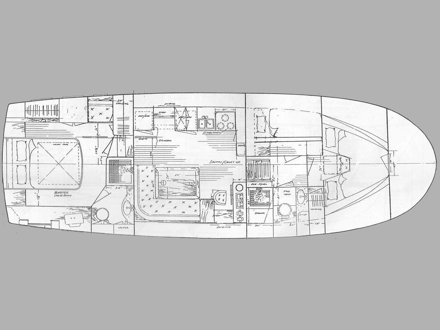 Hampton 42 (SEA LION) Plan image - 11
