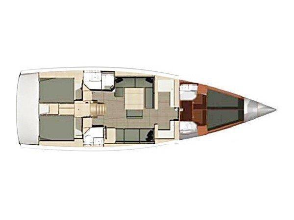Dufour 500 GL (Nirvana) Plan image - 5
