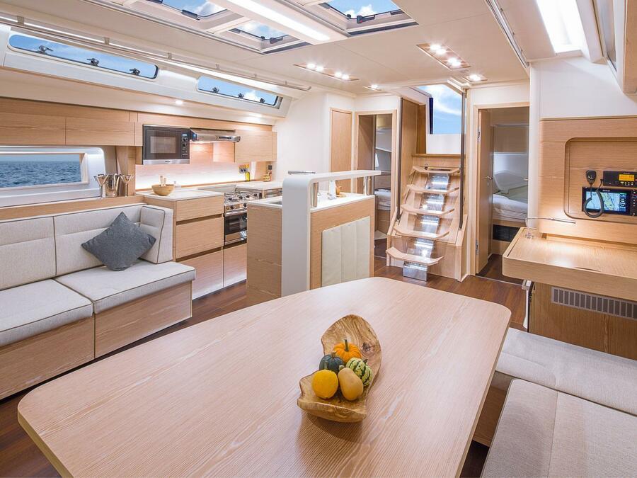 Hanse 588 - 4 cabins (EREMA) Interior image - 1