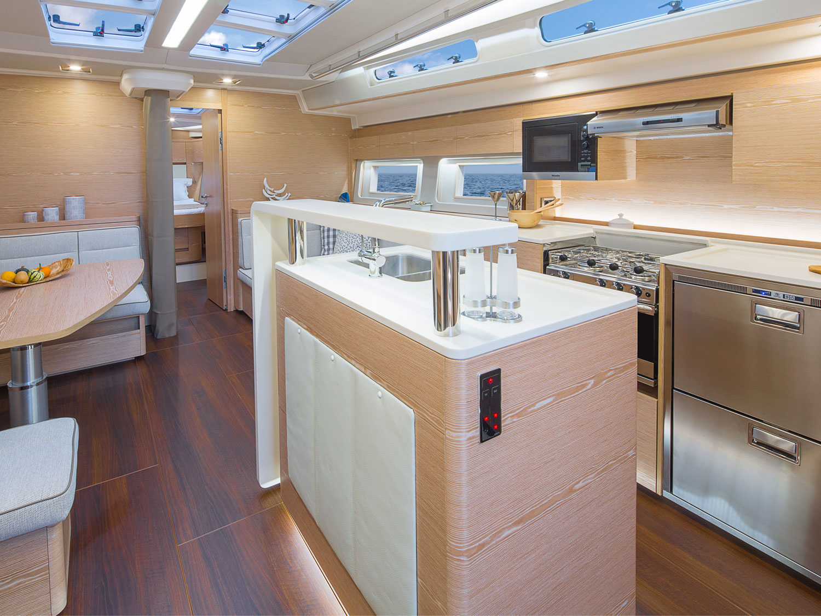 Hanse 588 - 4 cabins (EREMA)  - 2