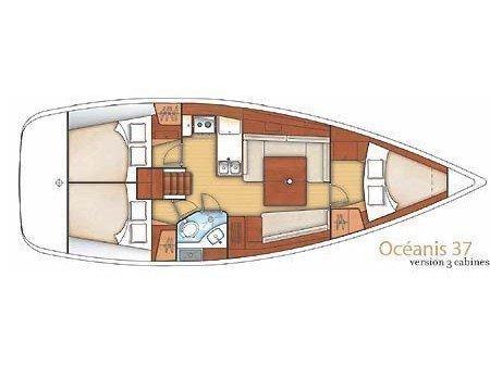 Oceanis 37 (Genie) Plan image - 3