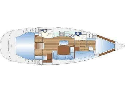 Bavaria 44 (Calypso) Plan image - 4