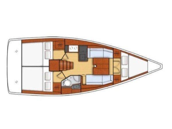 Oceanis 35.1 (Abeona) Plan image - 6