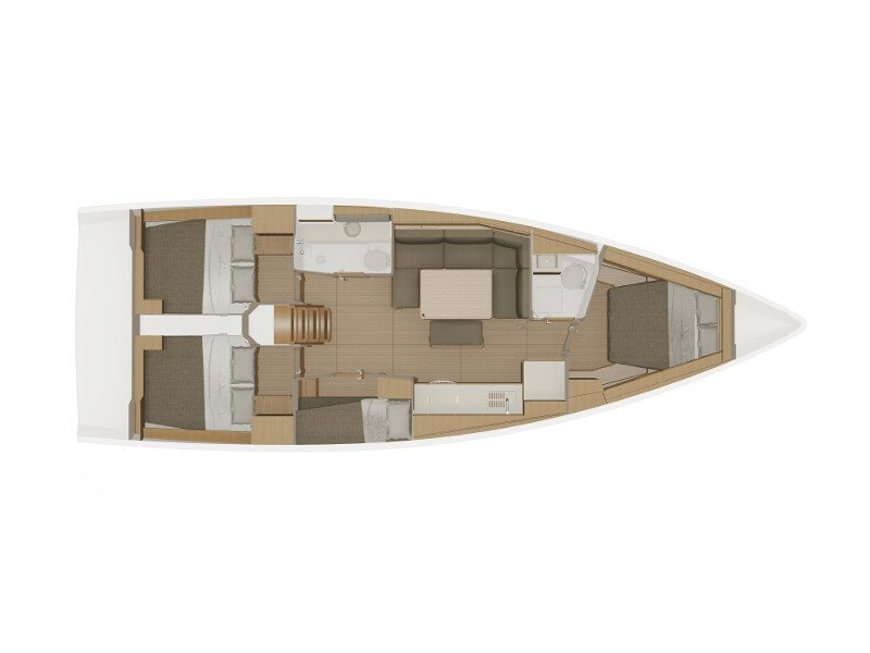 Dufour 430 Grand Large (Echo ΙΙ) Plan image - 2