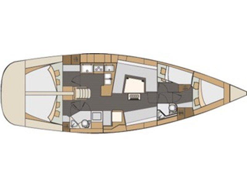 Elan 45 Impression (Delta) Plan image - 8