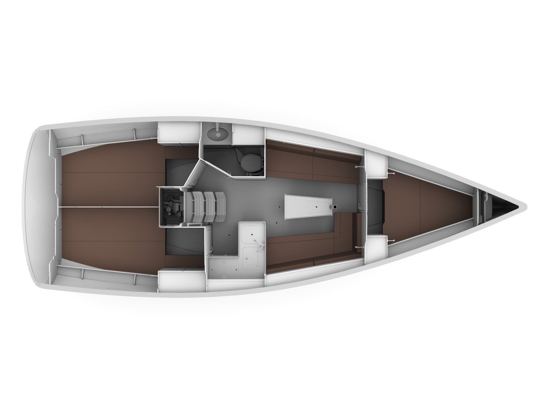 Bavaria 34 Cruiser (Be Happy) Plan image - 17