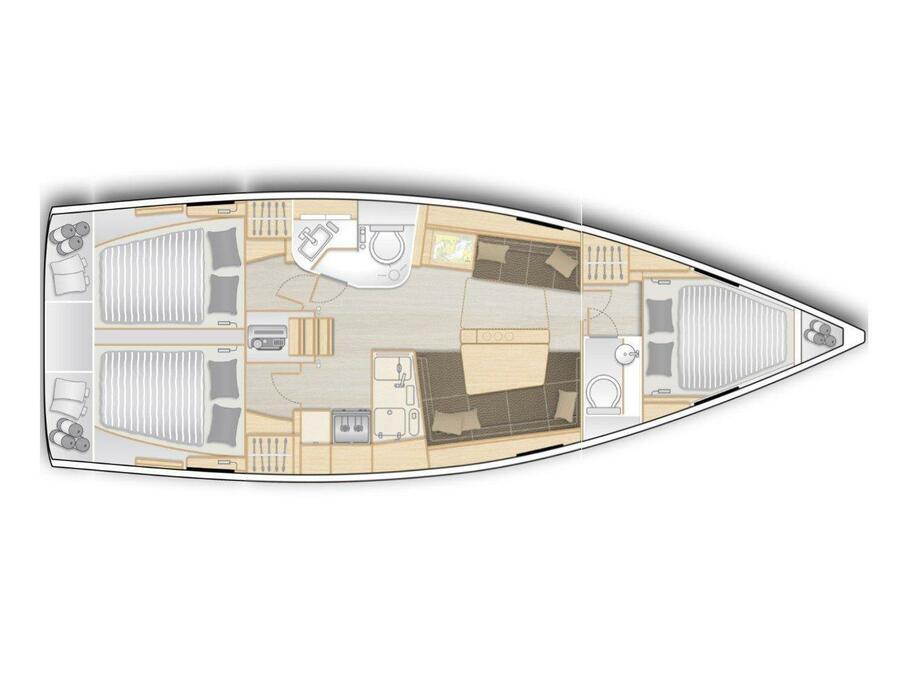 Hanse 388 (Be Smart) Plan image - 2