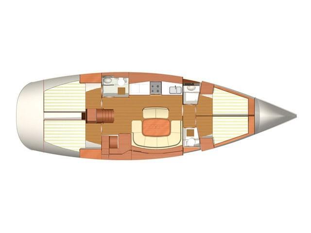 Dufour 455 Grand Large (Hauraki (refitted 2019)) Plan image - 11