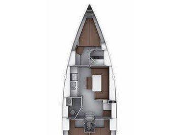 Bavaria 37 Cruiser (Nora E (with AC)) Plan image - 1