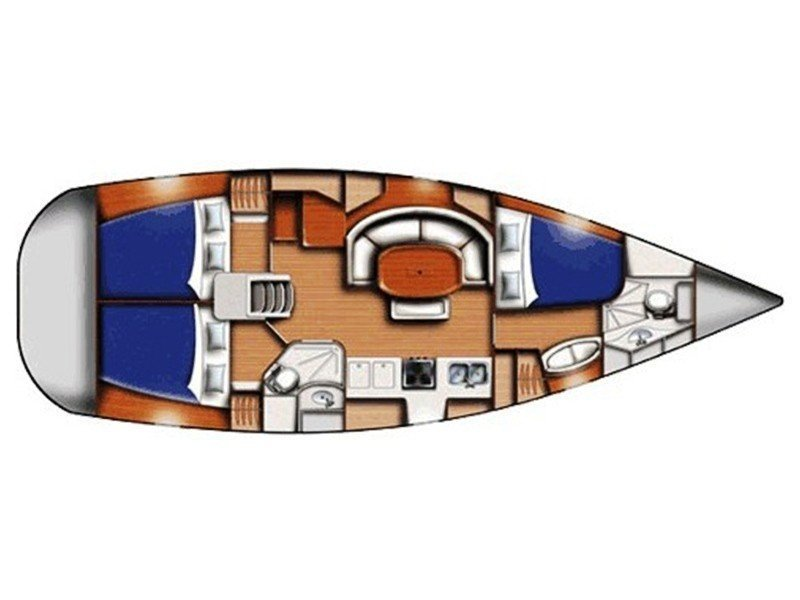 Oceanis 393 Clipper (Škuribanda (short terms offers on request)) Plan image - 15