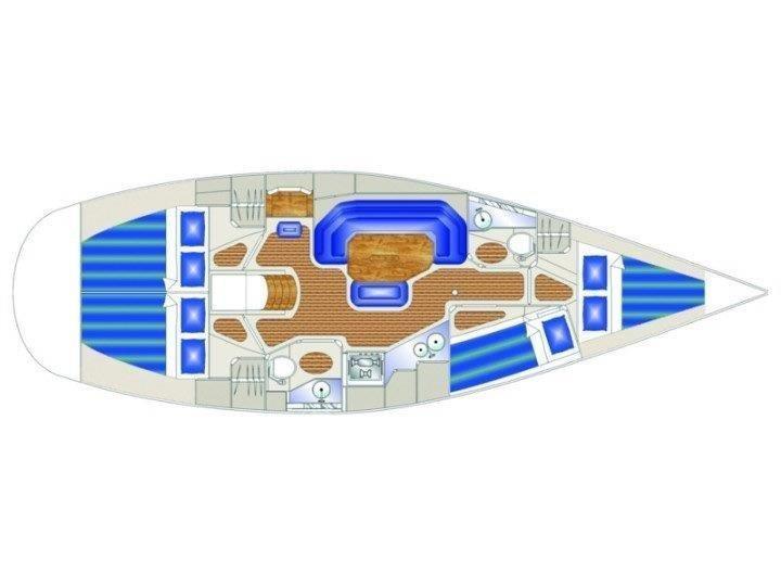 Vektor 401 (Molat) Plan image - 1