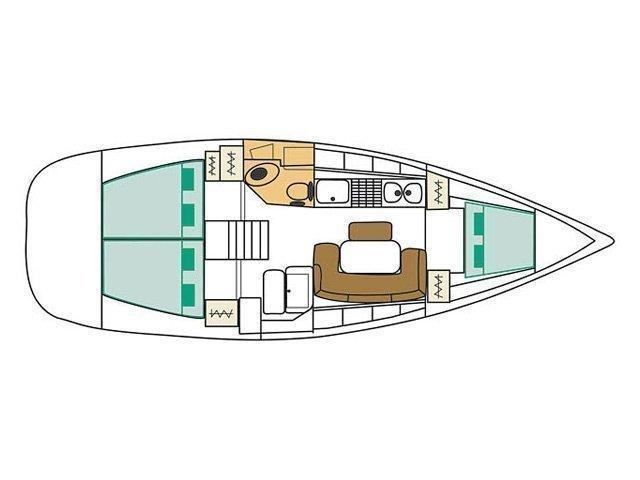 Cyclades 50.5 (Papalina) Plan image - 18