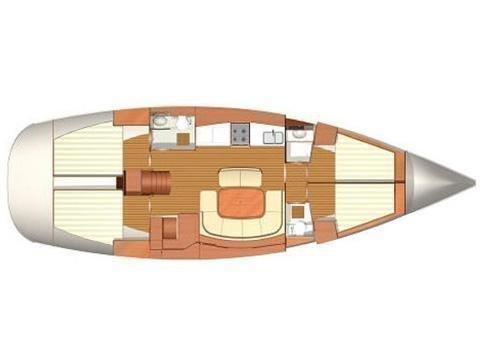 Dufour 455 Grand Large (Max) Plan image - 2