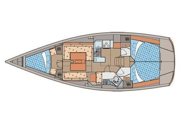 Elan 410 (Gordon) Plan image - 12