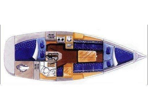 Elan 31 Performance (Sailway Tres) Plan image - 16