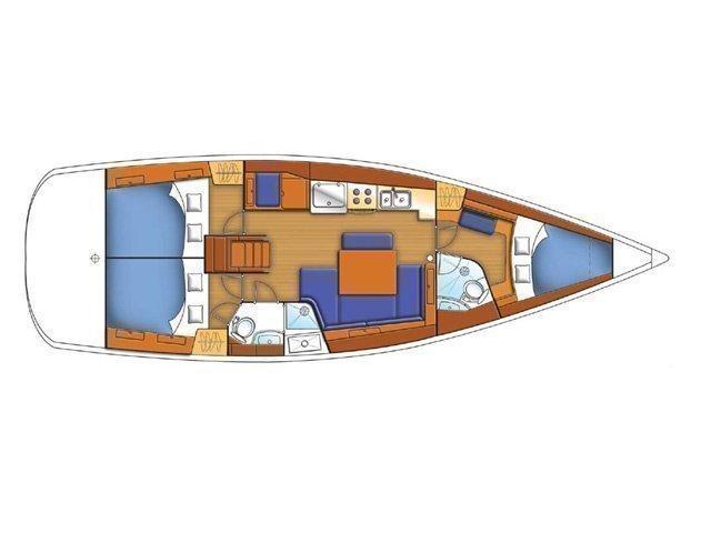 Oceanis 43 (Bliss) Plan image - 6