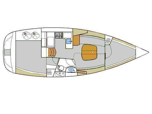 Oceanis 331 (Aloha) Plan image - 4