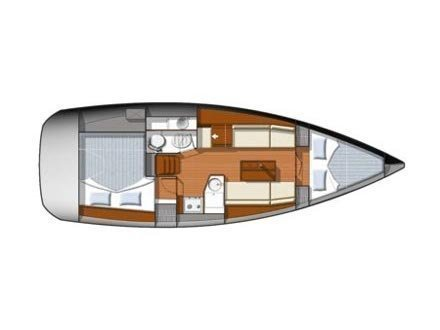 Sun Odyssey 33i (Chiquita) Plan image - 10