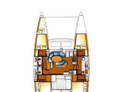 Lagoon 410 S2 (Vega) Plan image - 3